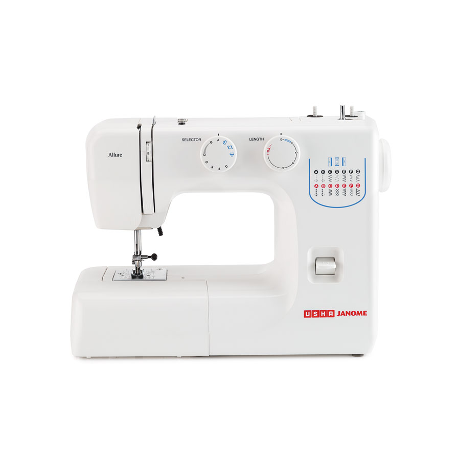 Usha Janome Allure | Automatic Zig Zag | Stitching and